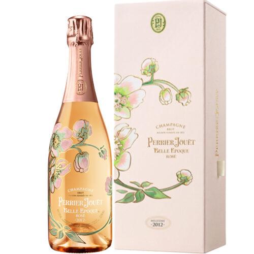 Champagne Perrier-Jouët Belle Époque Rosé Millésimé 2012 bouteille avec coffret - Champmarket