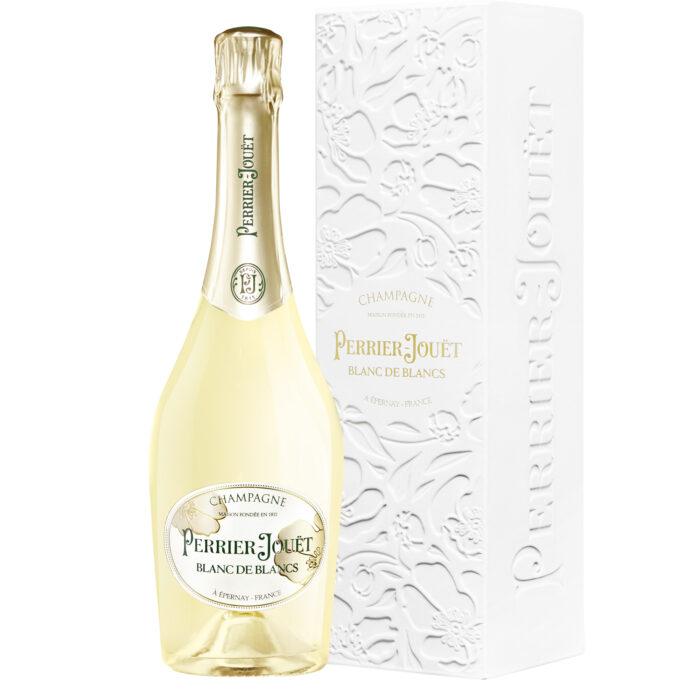 Champagne Perrier-Jouët Blanc de Blancs bouteille avec étui - Champmarket