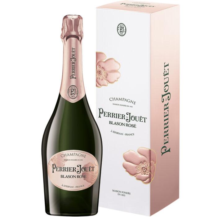 Champagne Perrier-Jouët Blason Rosé bouteille avec étui - Champmarket