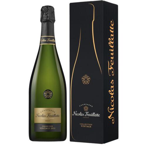 Champagne Nicolas Feuillatte Collection Vintage Brut 2010 Bouteille avec étui - Champmarket