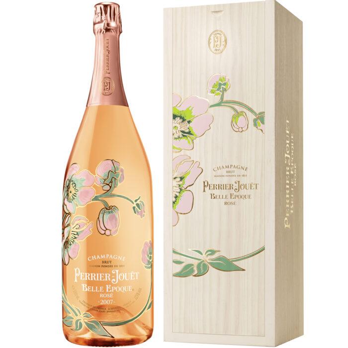 Champagne Perrier-Jouët Belle Époque Rosé Millésimé 2007 magnum avec coffret bois - Champmarket