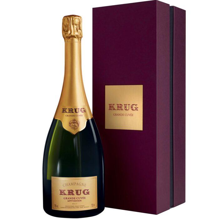 Champagne Krug Grande Cuvée Edition 169 Bouteille avec coffret - Champmarket