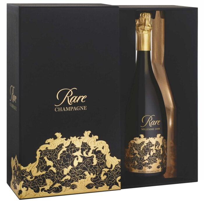 Champagne Rare millésime 2008 bouteille avec coffret - Champmarket