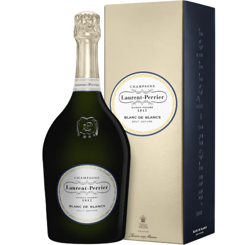 Champagne Laurent-Perrier Blanc de Blancs Brut Nature Magnum avec coffret - Champmarket