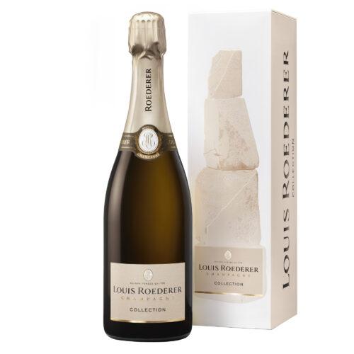 Champagne Louis Roederer Collection 242 Bouteille avec étui - Champmarket