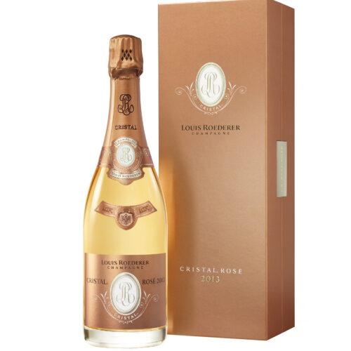 Champagne Louis Roederer Cristal Rosé Millésimé 2013 Bouteille avec coffret - Champmarket