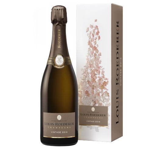 Champagne Louis Roederer Brut Vintage 2014 Bouteille avec étui - Champmarket