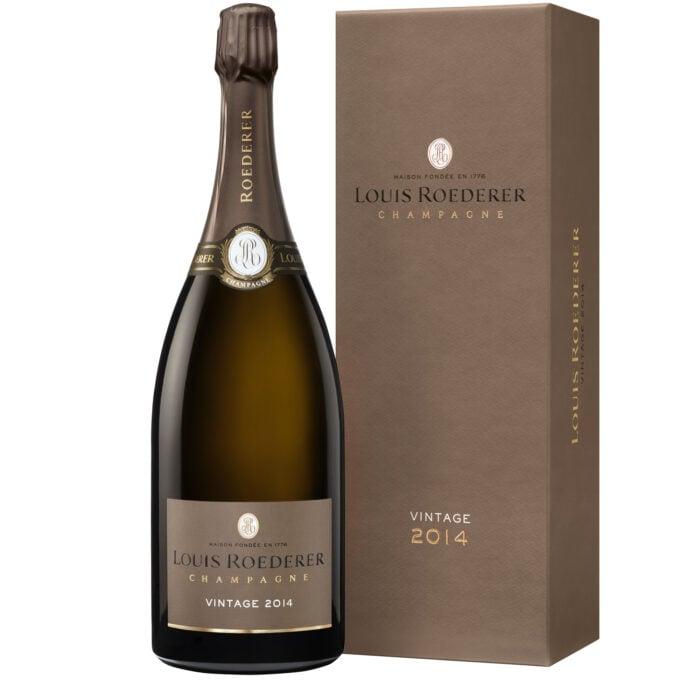 Champagne Louis Roederer Brut Vintage 2014 Magnum avec coffret - Champmarket