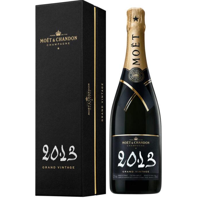 Champagne Moët & Chandon Grand Vintage 2013 Bouteille avec coffret - Champmarket