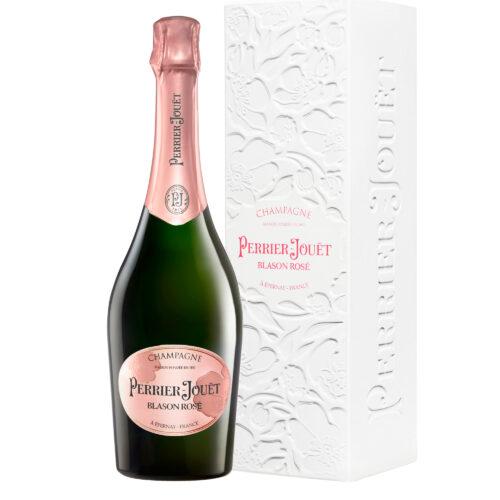 Champagne Perrier-Jouët Blason Rosé bouteille avec coffret écobox - Champmarket