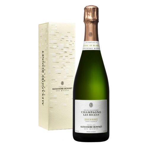 Champagne Alexandre Bonnet Blanc de Blancs Bouteille avec étui - Champmarket