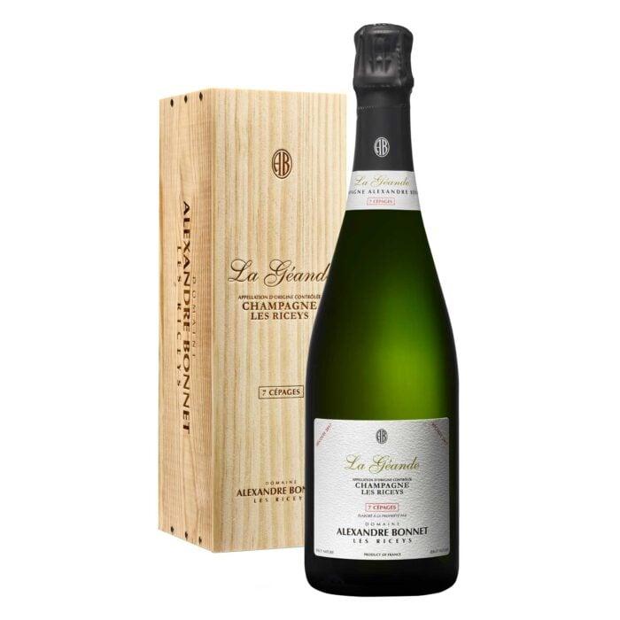 Champagne Alexandre Bonnet La Géande 7 cépages Bouteille avec coffret bois - Champmarket