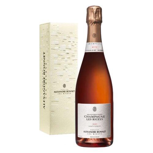 Champagne Alexandre Bonnet Rosé Bouteille avec étui - Champmarket