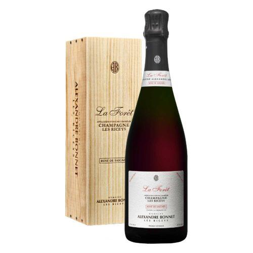 Champagne Alexandre Bonnet La Forêt Rosé de Saignée Bouteille avec coffret bois - Champmarket