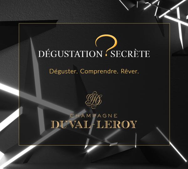Champagne Duval-Leroy Dégustation Secrète 6 Bouteilles - Champmarket