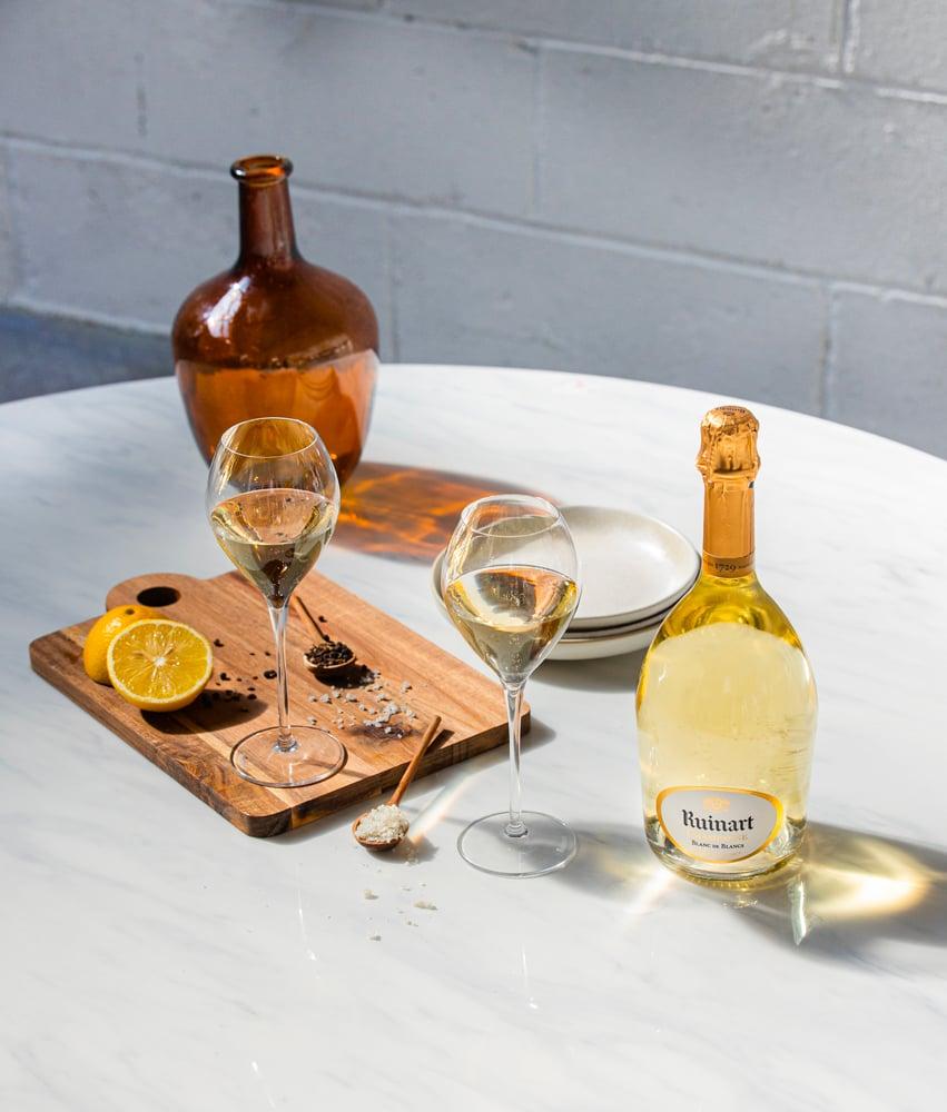 Unconventionnal restaurant, la table éphémère Ruinart pendant la FIAC - Champmarket Magazine